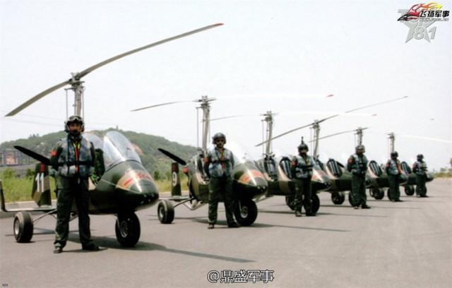 """Nguyên bản chiếc Gyrocopter này mang tên """"Đại bàng săn mồi"""" (Hunting Eagle), điểm đặc biệt của nó là nhỏ gọn và buồng lái không khép kín như các dòng máy bay trực thăng truyền thống.  Động cơ là loại rotor trục cỡ nhỏ giúp nâng hạ và một cánh quạt phía đuôi tạo ra năng lượng đẩy giúp máy bay di chuyển. Hiện tại thông số kỹ thuật của loại Gyrocopter này vẫn chưa được Trung Quốc công bố rõ ràng."""
