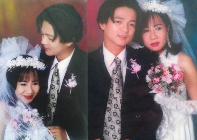 Sau nhiều năm, Vũ Hà mới công bố ảnh cưới cách đây hơn 20 năm