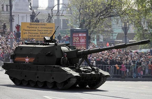 Trong tương lai, Nga sẽ đưa vào sử dụng loại pháo tự hành Koalitsiya mới.
