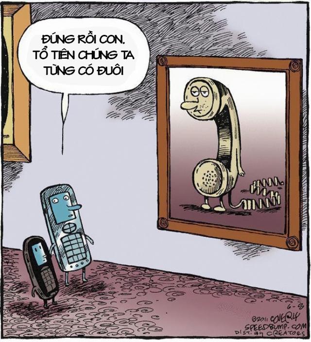 Chiếc điện thoại bàn hầu như đã tuyệt chủng trong các gia đình khi công nghệ không dây phát triển với tốc độ ánh sáng.