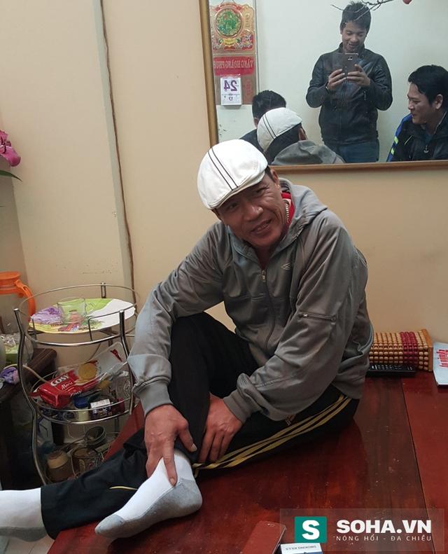 Đại tá Nguyễn Trường Tam hài hước kể lại lần duy nhất mình bị dính thương.