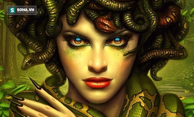 Sao Quỷ được đặt tên theo nữ thần đầu rắn trong thần thoại Hy Lạp. Hình minh họa.