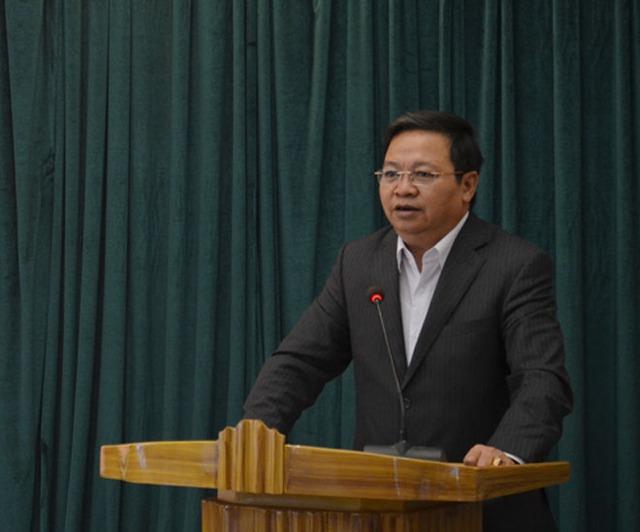 Chủ tịch tỉnh Hà Nam Nguyễn Xuân Đông. Ảnh: Hanamtv.vn