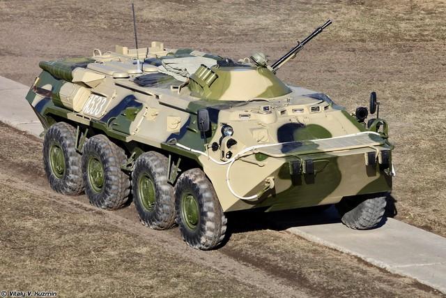 Xe thiết giáp chở quân BTR-80