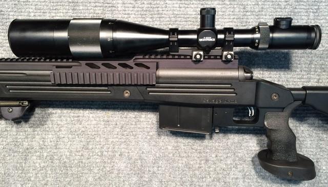 Các đường ray Picatinny giúp súng tương thích với nhiều phụ kiện khác nhau