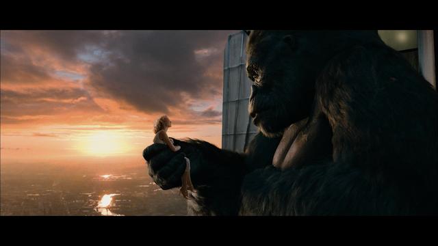 Một cảnh trong phim King Kong 2005.