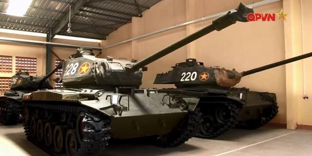 Xe tăng hạng nhẹ M41 Walker Bulldog chiến lợi phẩm của Quân đội Nhân dân Việt Nam
