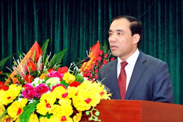 Ông Chẩu Văn Lâm, Bí thư Tỉnh ủy Tuyên Quang. Ảnh: Công thông tin điện tử Tuyên Quang.