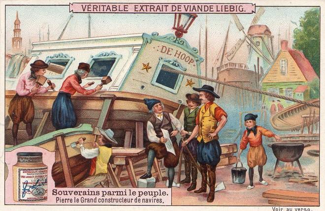 Ông lập ra những hải cảng, xưởng đóng thuyền. Ảnh Internet..