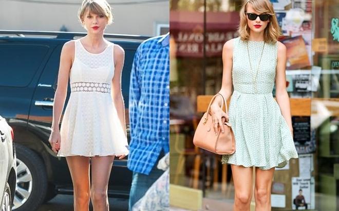 Taylor Swift là tín đồ của các thể loại váy.