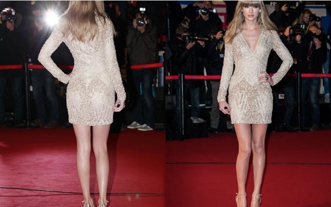 Sức hút khó cưỡng của Taylor Swift đối với các tay máy ảnh.