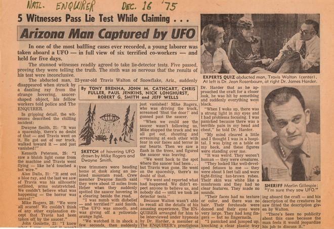 Vụ chạm trán người ngoài hành tinh gây chấn động nước Mỹ - Ảnh 3.