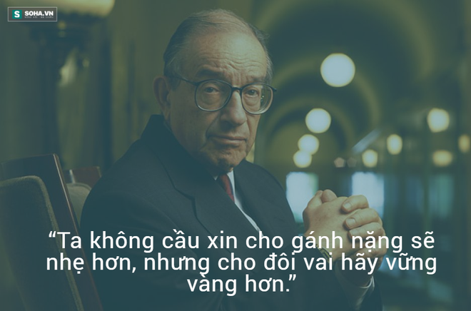 Nhân vật trong hình: Alan Greenspan (sinh ngày 6 tháng 3 năm 1926 tại New York) là nhà kinh tế học Mỹ gốc Do Thái. Ông là Chủ tịch Hội đồng Thống đốc Cục Dự trữ Liên bang Hoa Kỳ từ 1987 đến 2006.