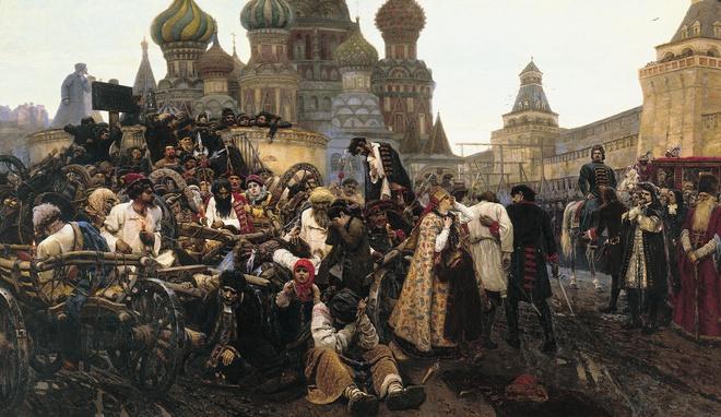 Nước Nga trước đó là một đất nước lạc hậu. Ảnh Internet.