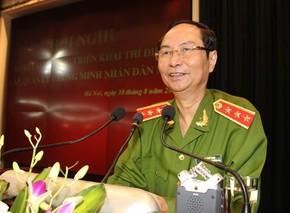 đám tang Thượng tướng Phạm Quý Ngọ