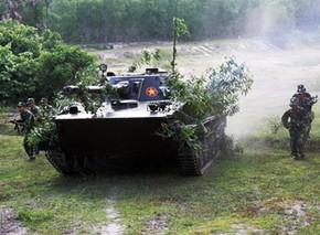 xe tăng lội nước PT-76