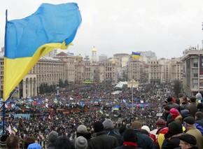 biểu tình ở Ukraine