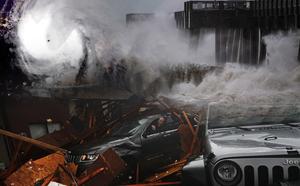 Bão Michael gây nhiều thiệt hại sau khi đổ bộ vào đất liền tại Mỹ - ảnh 1