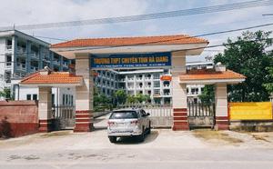 Hai bị can vụ nâng điểm chấn động ở Hà Giang từng đổ trách nhiệm cho nhau tại cuộc họp - ảnh 1