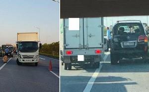 Nhân chứng kể vụ tài xế Lexus biển tứ quý 8 bị xe tải đâm tử vong khi làm việc với CSGT - ảnh 2