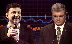 [NÓNG] Bầu cử Ukraine: TT Poroshenko đại bại, danh hài Zelensky giành chiến thắng áp đảo với 73% phiếu bầu - ảnh 1