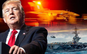 Ồ ạt điều tàu thị uy trước Iran ở vịnh Ba Tư, Mỹ không ngờ tự làm yếu năng lực ở Biển Đông - ảnh 1