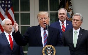 Dùng từ nhạy cảm quá đà, TT Trump phải muối mặt xin lỗi tân Chủ tịch Hạ viện Mỹ - ảnh 1