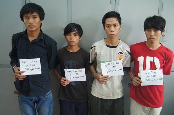 Các nghi can trong vụ án mạng đã bị bắt giữ