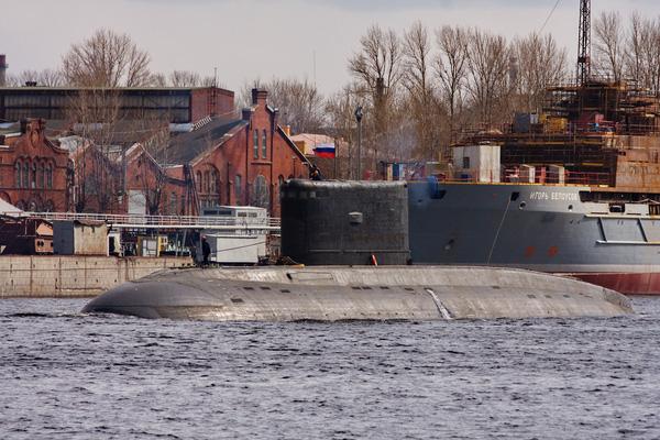 Tàu ngầm Hồ Chí Minh bắt đầu rời nhà máy để ra biển thử nghiệm.
