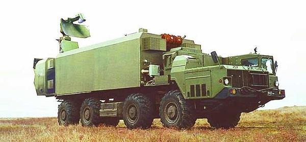 Xe chỉ huy điều khiển tên lửa Kh-35