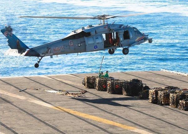 Hiện tại, tàu sân bay Nimitz đang đậu ngoài ngời bờ biển Hàn Quốc để tham gia các cuộc tập trận trung với nước này.
