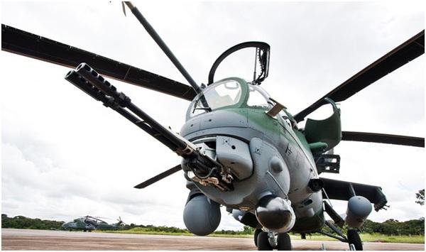 Khẩu GSh-23L nòng đôi siêu khủng khiếp của Mi-24…