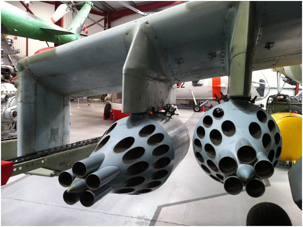 …và dàn phóng rocket đã khiến bao kẻ thù phải khiếp sợ.