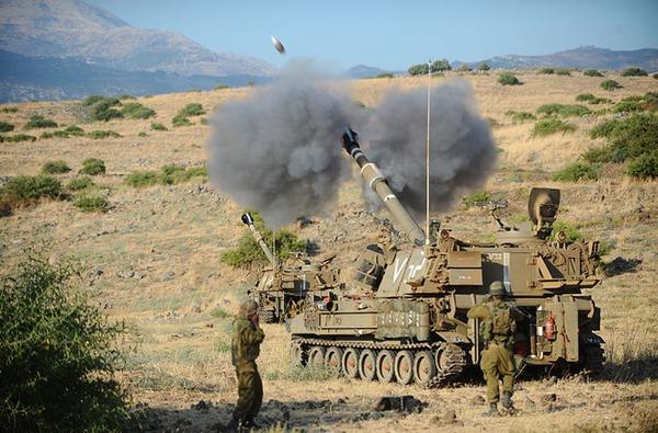 Pháo tự hành M109A5 trang bị pháo cỡ 155mm M284 bắn xa 23,5km. Ảnh minh họa