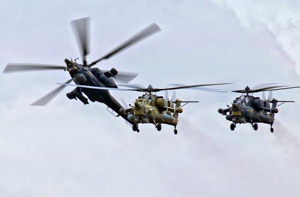 Trong vài năm gần đây, Không quân Nga đã đưa vào sử dụng trực thăng tấn công thế hệ mới Mi-28.