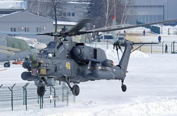 Trực thăng chiến đấu Mi-28 được tối ưu hóa hơn Mi-24, loại bỏ chức năng vận tải chỉ chuyên tâm vào chiến đấu.