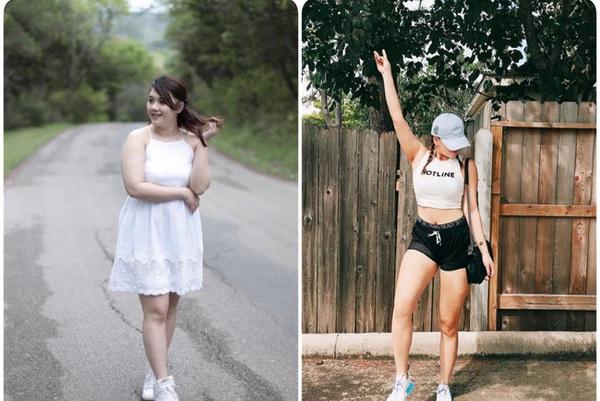 Vốn xinh đẹp, cô gái giảm liền 13kg và đây là kết quả bất ngờ!