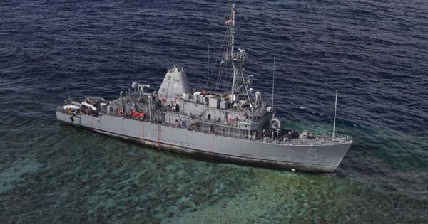 5 sự cố tàu chiến mắc cạn khiến Hải quân Mỹ bẽ bàng