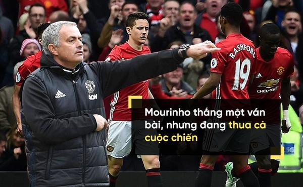 Mourinho là thiên tài, là kẻ chiến thắng vĩ đại, nhưng...