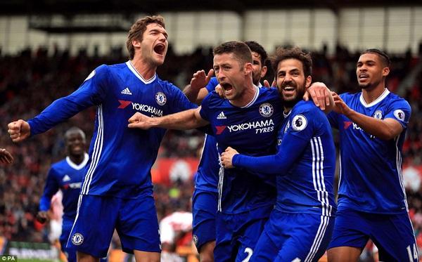 Chelsea lấy đủ 3 điểm, tiến sát đến ngôi vô địch