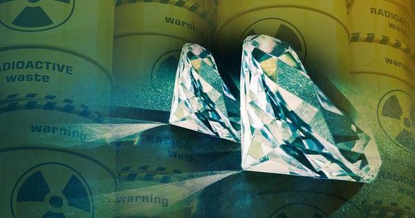 Chế tạo thành công pin kim cương có tuổi thọ 5.000 năm từ rác thải hạt nhân