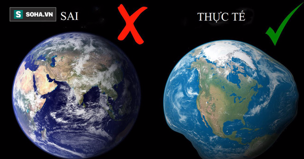 Trái Đất hình tròn, Mặt Trời màu vàng là những lầm tưởng lâu nay của chúng ta về vũ trụ