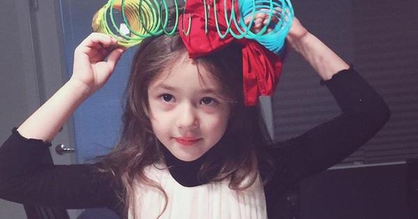 """Vẻ đáng yêu của """"thiên thần quảng cáo"""" 8 tuổi xứ Hàn"""