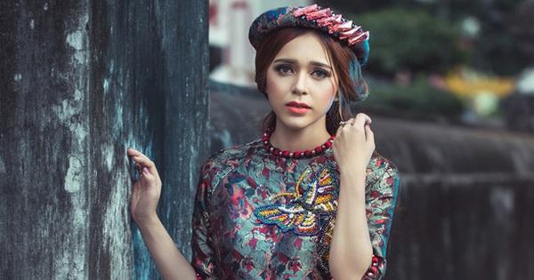 Ngơ ngẩn trước nét đẹp lai Tây của cô gái 9X Việt