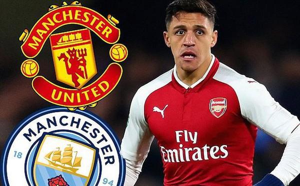 Man City bỏ cuộc, M.U áp sát ngôi sao Sanchez
