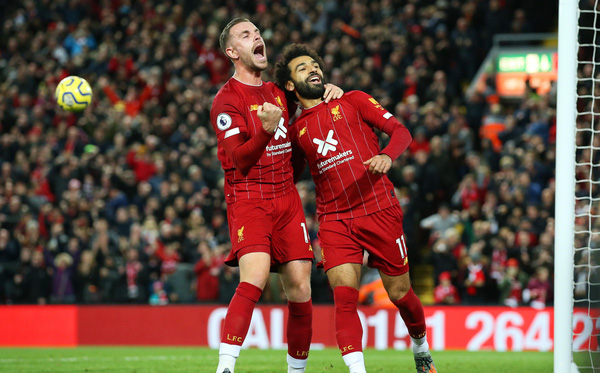 Vận may gõ cửa, Liverpool xây chắc ngôi đầu bảng bằng trận thắng nhọc trước Tottenham