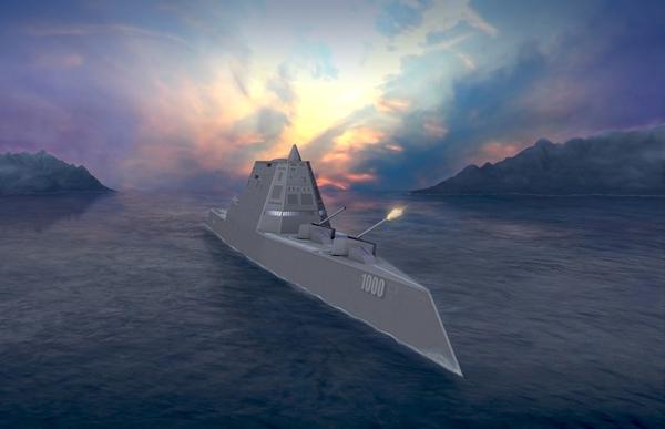 Thiết kế 3D của chiếc DDG1000