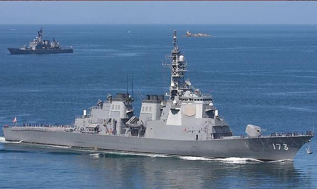 Tàu khu trục lớp Kongo của hải quân Nhật