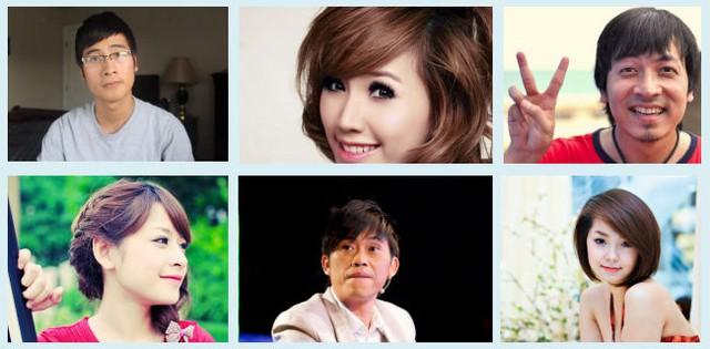 6 nhân vật dẫn đầu về số lượng fan