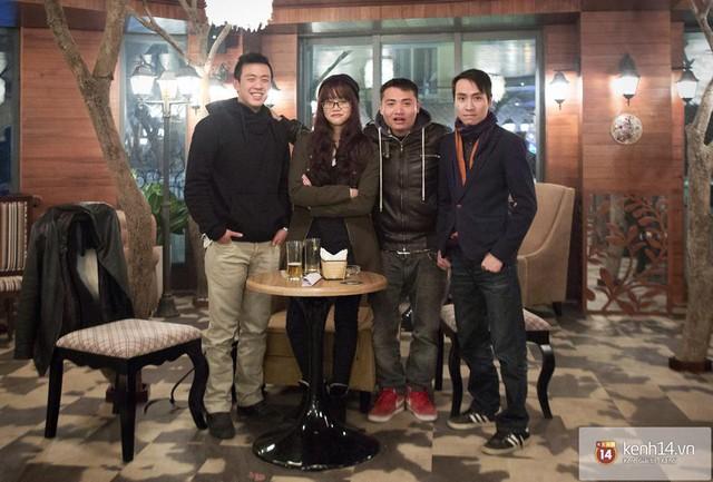 Thành Huyme, An Nguy, Tuấn Saker và Toàn Shinoda.